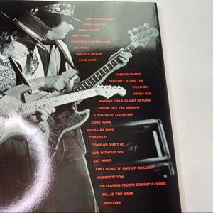 Vintage Accents - Vintage Stevie Ray Vaughn Bass Music Book Learning